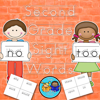Dolch Second Grade Sight Words Handwriting