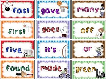 Sight Words ~ 2nd Grade