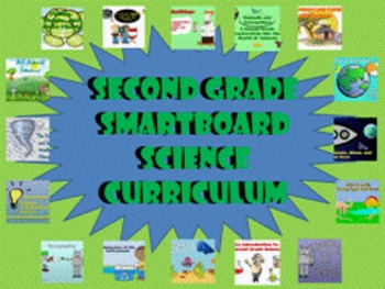 Second Grade SmartBoard Science Curriculum Bundle