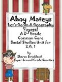 Second Grade Social Studies-Common Core Aligned Geography Unit