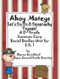 Second Grade Social Studies-Common Core Aligned Geography Unit