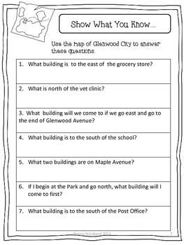 Second Grade Social Studies-Common Core Aligned Geography ...