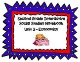 Second Grade Social Studies Interactive Notebook Unit 3 Economics