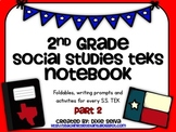 Second Grade Social Studies Notebook part 2