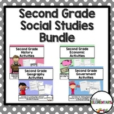 Second Grade Social Studies Bundle