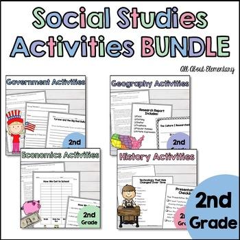 Second Grade Social Studies Bundle