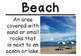 FREEBIE 2nd Grade Social Studies Vocabulary Cards: Our Community's Geography (L)