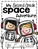Second Grade Space Adventure Journal Template