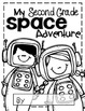 Second Grade Space Adventure Journal Template