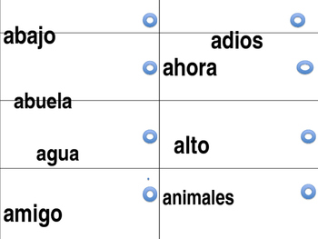 Second Grade Spanish Sight words link