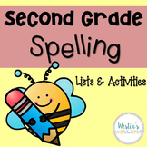 Second Grade Spelling Lists & Activities