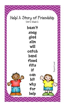 Second Grade Spelling Lists (beyond level) - McGraw-Hill Reading Wonders