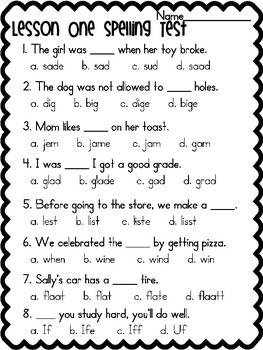 Second Grade Spelling Tests {Journeys Based} 30 Weeks!