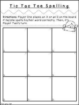 Second Grade Spelling-Unit 1 (over 100 editable items, Common Core aligned)