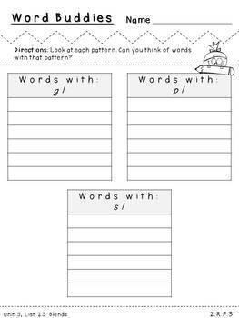 Second Grade Spelling-Unit 5 (over 100 editable items, Common Core aligned)