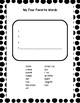 Second Grade Spelling Words, California Treasures Unit 1