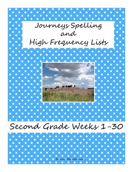 Second Grade Spelling and High Frequency (Journeys)