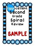 Second Grade Spiral Review - Math