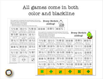 Second Grade Spring Games Addition, Subtraction, and Place Value