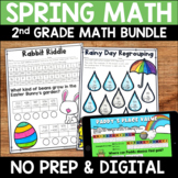 Spring No Prep Math Pack for Second Grade