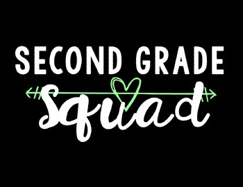 Second Grade Squad Background
