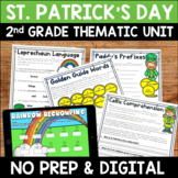 St. Patrick's Day Literacy and Math No Prep Mini Unit for