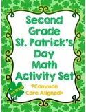 Second Grade St.Patrick's Day Math Activity Set *Common Core Aligned*