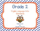 Second Grade Standards ELA
