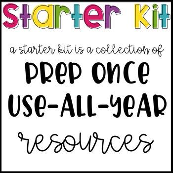 Second Grade Starter Kit