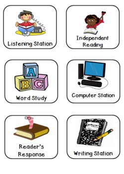 Second Grade Station Icons