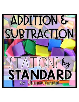 Second Grade Stations by Standards Labels Free