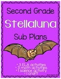 Second Grade Stellaluna Sub Plans - 8 Activities!