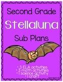 Second Grade Stellaluna Sub Plans - 8 Activities!