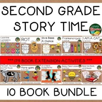 Second Grade Story Time 10 Book Bundle