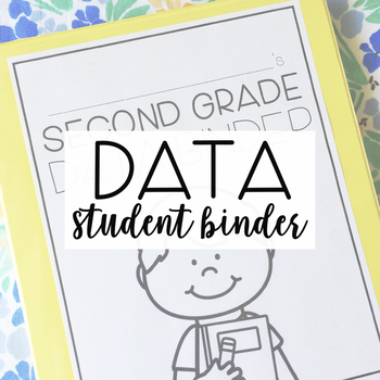Second Grade Student Data Binder: COMMON CORE