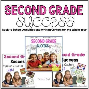 Second Grade Success Big Bundle Back to School