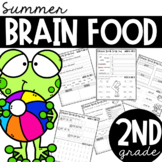Second Grade Summer Brain Food {Summer Packet}