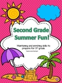 Second Grade Summer Math