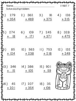 Second Grade Summer Math Review