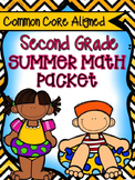 Second Grade Summer Math Review