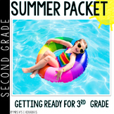 Second Grade Summer Packet: Summer Review for 2nd Graders Entering 3rd Grade