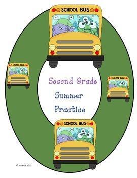 Second Grade Summer Practice