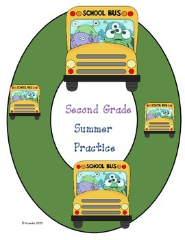 Second Grade Summer Practice