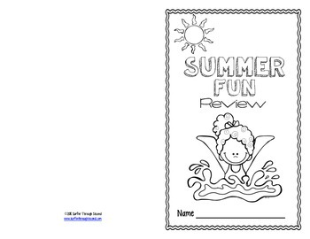 Second Grade Summer Review Packet / Booklet