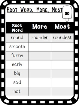 Second Grade Summer Review Pack