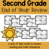 Second Grade End of Year Review Scoot