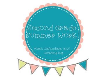 Second Grade Summer Work