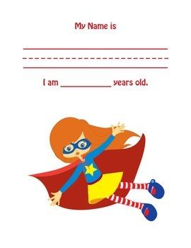 Second Grade Super Heroes