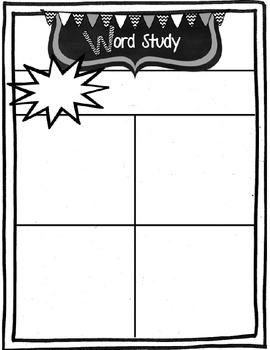 Second Grade Super Kids Monthly Newsletter