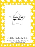 Second Grade Super Stars (Introduction to Interviewing)